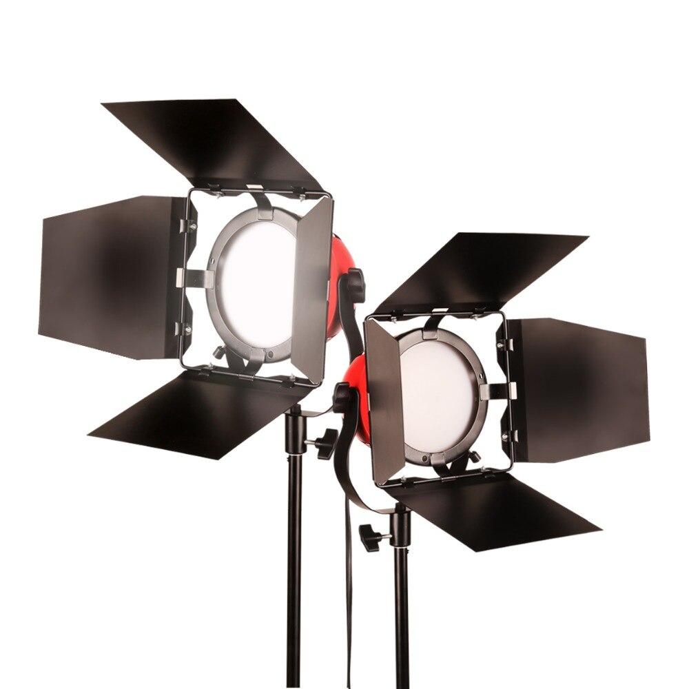 GSKAIWEN haute CRI 92 + LED photographie lumières caméra lumière Studio professionnel trépied luminosité réglable kit de lumière de remplissage vidéo