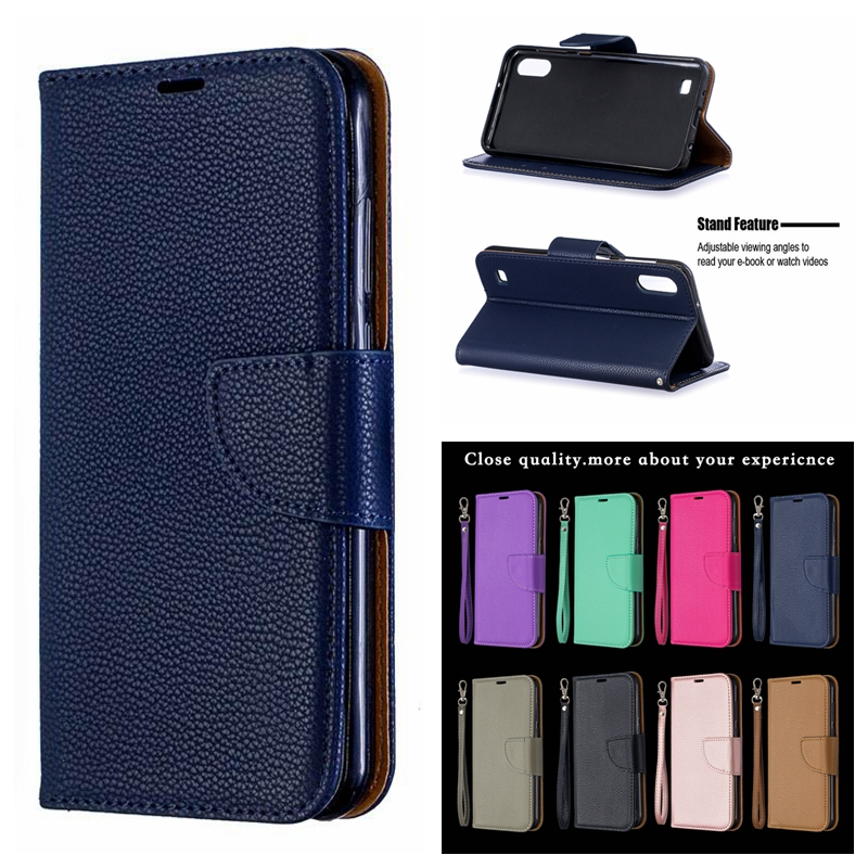 M10 Case on for Samsung Galaxy M10 M105F Case Cover for Samsung A10 A105F A105 Capa Fashion Flip Wallet Leather Phone Case Coque