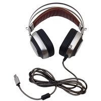 XIBERIA K10 Gaming Headphones stereo casque USB 7.1 Surround Sound Game Headset with Microphone LED Light for Computer PC Game