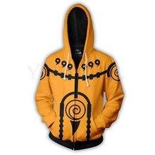 100cm-150cm Naruto Unisex Sweatshirt Hoodies Children Hoodie 3D Printed Moving Streetwear Hip Hop Warm Hooded for Kids