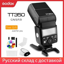 Godox TT350C TT350N TT350S TT350F TT350O Flash 2,4G HSS TTL Drahtlose Speedlite Flash für Canon Nikon Sony Fuji Olympus