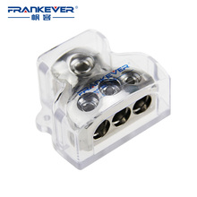 Hot selling Top Quality Nickel Plated 1-0GA in 3-4GA out Auto Car Audio Cable Converter Distribution Block