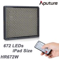 Aputure Amaran HD DV Video LED Light HR672W Portable Dimmable Daylight Professional Photographic Camcorder Camera Light Panel