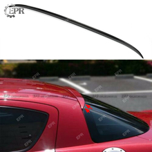 For Mazda RX8 Carbon Rear Roof Spoiler (All Model) Car Styling Tuning Trim Part RX8 Carbon Fiber Rear Wing Roof Boot Lip Spoiler цена в Москве и Питере