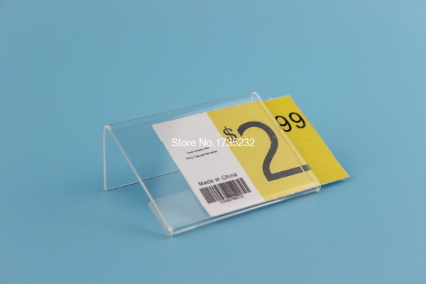 6 4cm acrylic price tag name card table for Tag table html