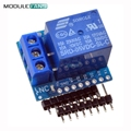 ESP8266 Relay Shield V2 WeMos D1 Mini ESP8266 Development Board For WeMos D1 Mini Relay Module For Arduino Free Shipping ESP8266