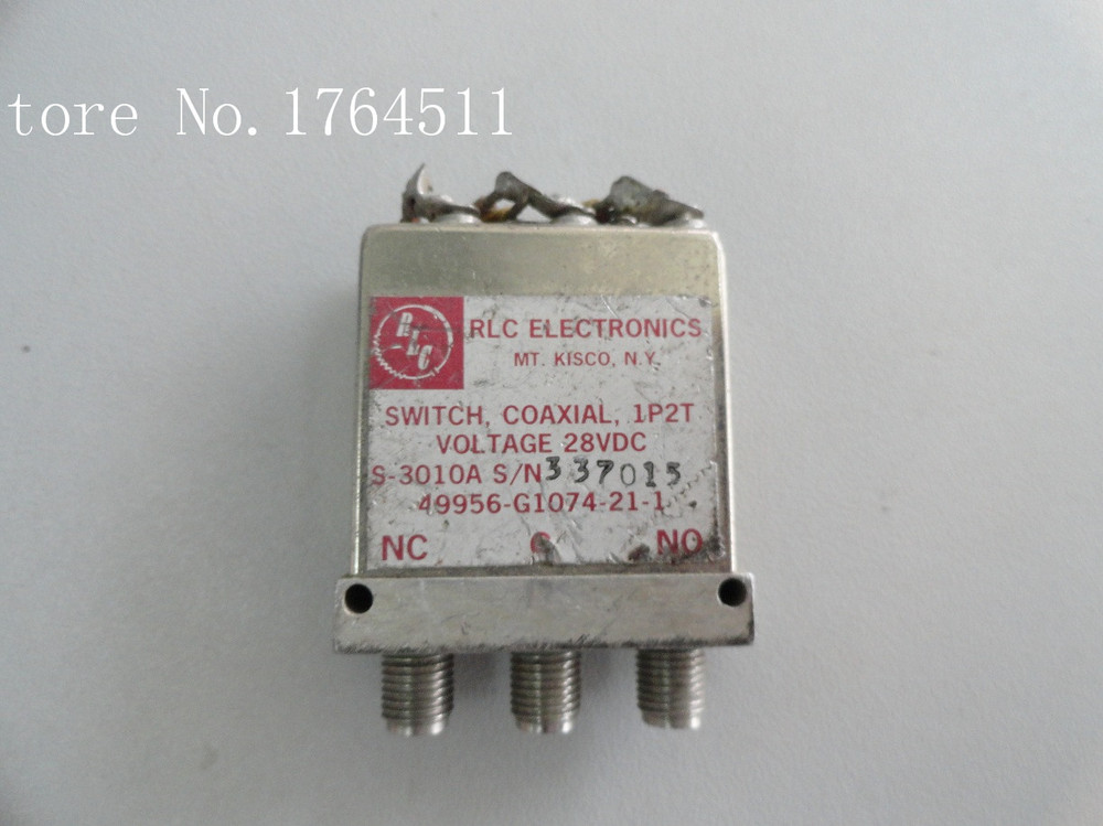 [BELLA] RLC S-3010A DC-18GHZ SPDT 28V  --2PCS/LOT