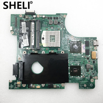 SHELI CN-0CG4C1 0CG4C1 CG4C1 For Dell N4010 Motherboard with HD5470 DAUM8AMB8D0