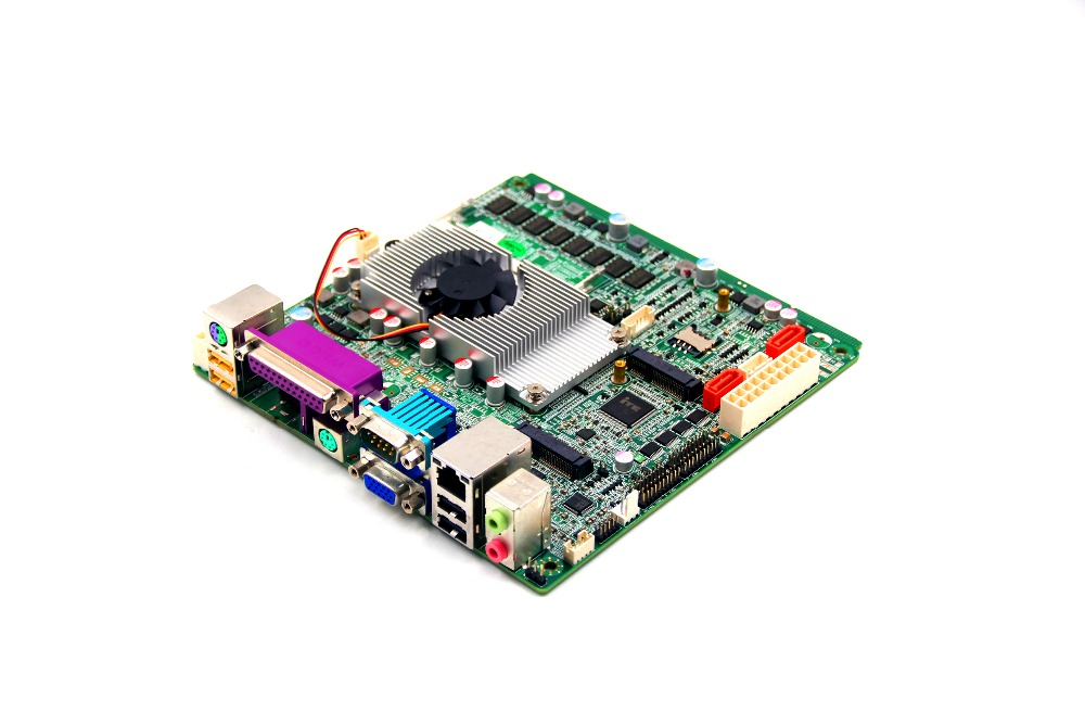 MINI ITX industrial motherboard support Celeron 1037U for POS use used original for onda h81ipc one machine mini itx mini industrial motherboard 12v msata lvds com usb3