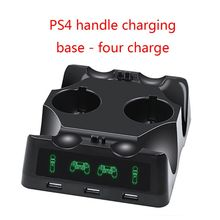 جهاز شحن محطة شاحن مهد شاحن يو اس بي حامل حامل ل بلاي ستيشن 4 PS4 سليم برو PS VR PS نقل الملحقات