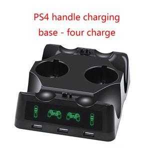 Image 1 - جهاز شحن محطة شاحن مهد شاحن يو اس بي حامل حامل ل بلاي ستيشن 4 PS4 سليم برو PS VR PS نقل الملحقات