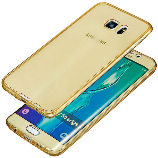 Full Cover Silicone Cases for Samsung