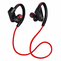 Bluetooth Earphones Sport 4 1 Wireless Headphones Headset IPX4 Magnetic Earbuds Mic For Phone IPhone Xiaomi