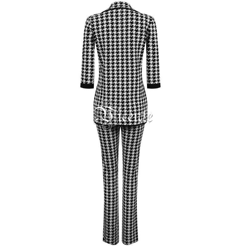 Mode 2019 Haut Nouveau Trois Party Celebrity Multi La Manches Bandeau Pantalon Quarts Poule Costume À Mis Jacquard Pièces Deux Vicente AxpgwqIg