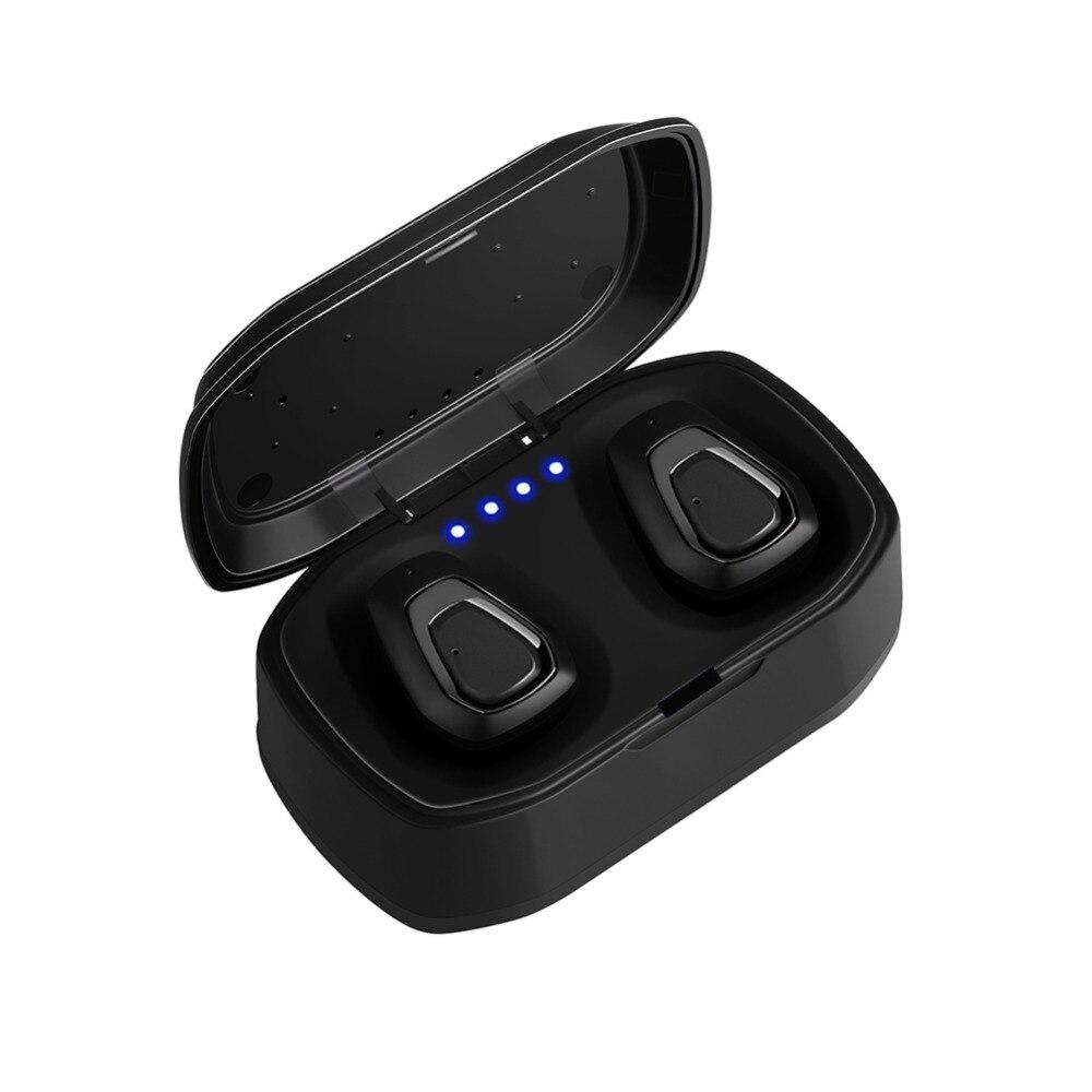 A7 TWS Auricolare Bluetooth Senza Fili Stereo Handfree Bluetooth di Sport Auricolare Con Scatola di Carico Per iphone Android PK X2T i7/ i7s