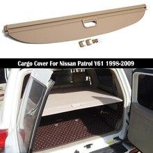 Задняя крышка для багажника Nissan Patrol Y61 1998-2009, Защитная пленка, автомобильные аксессуары