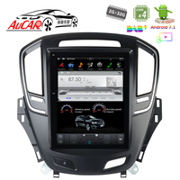 Android 7.1 10.4 Tesla Style for Opel Insignia Buick Regal 2014 Car GPS Mulltimedia Bluetooth Radio WIFI 4G Vertical Stereo