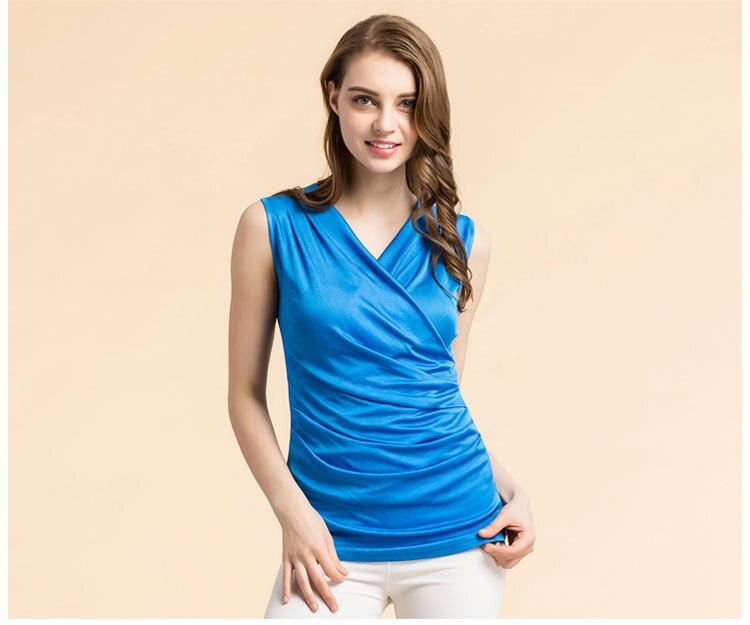 Rupee T-shirt, Pleated Silk 12