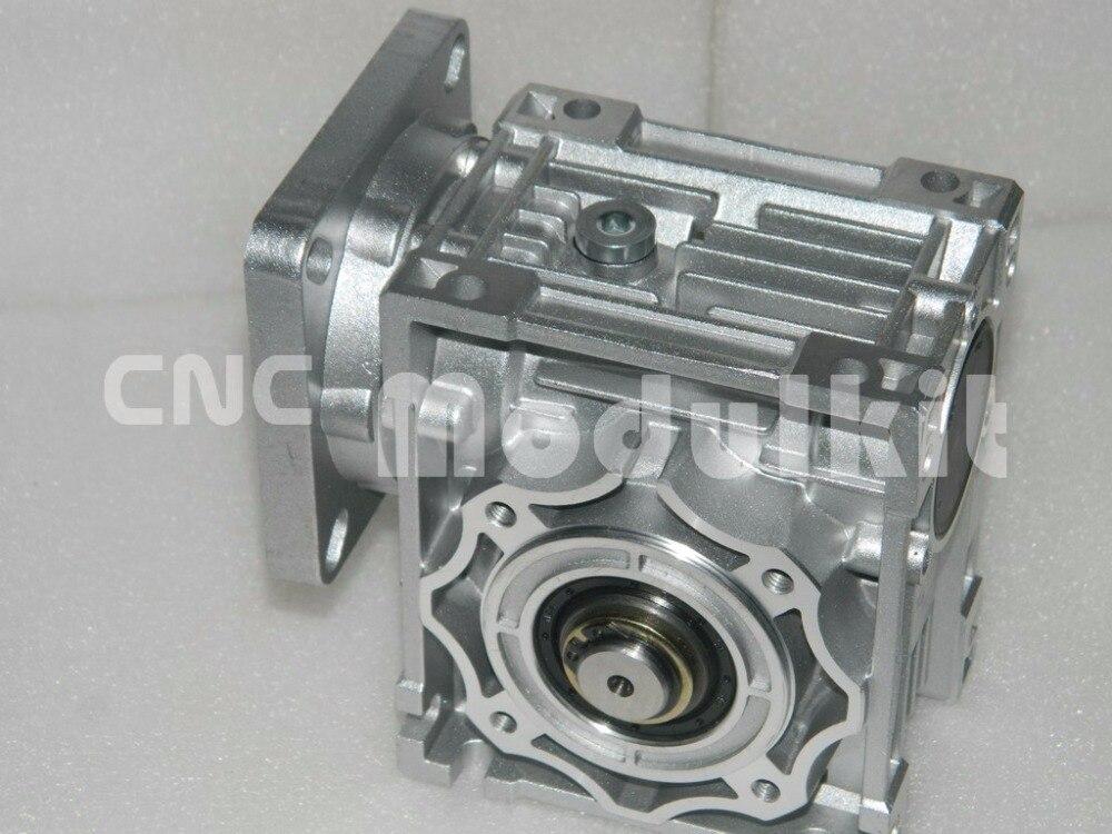 NMRV040 Worm Gear Worm Reducer Nema 34 Stepper Motor Turbine 86 x 86 Reducer Gearbox Output Shaft 18mm Planet Motor CNC MODULKIT