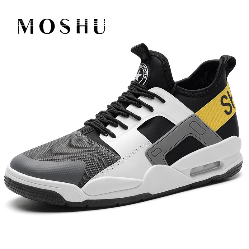 Summer Men Sneakers Breathable Casual Shoes male lace up Mixed Colors Shoes Trainers Zapatillas Zapatos Hombre