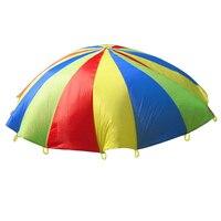 Интерактивная игрушка для прогулок, 3 м, детский Радужный зонт, для спорта на открытом воздухе, для детей и родителей
