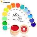 Venalisa nuevo 2019 manicura uñas de arte consejos 180 Color UV LED Gel laca polaco pintura Gel UV de tinta gel para diseño de uñas de arte
