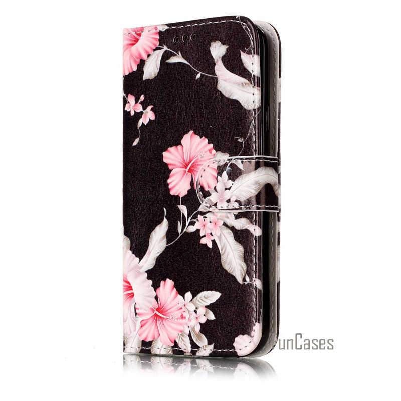 ファッション大理石puレザーフリップ電話ケース三星ギャラクシーs5 neo s6 s7エッジs8プラスバックカバー高級財布coqueケースカバー