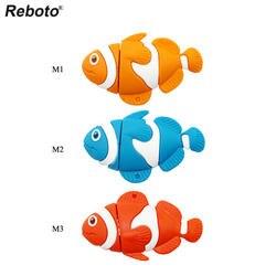 Retobo Usb 2,0 розничная продажа мультфильм поиск Немо Смешной клоун Рыба ручка диск U диск 4 ГБ 8 ГБ 16 ГБ 32 ГБ Флешка Personalizado 64 ГБ