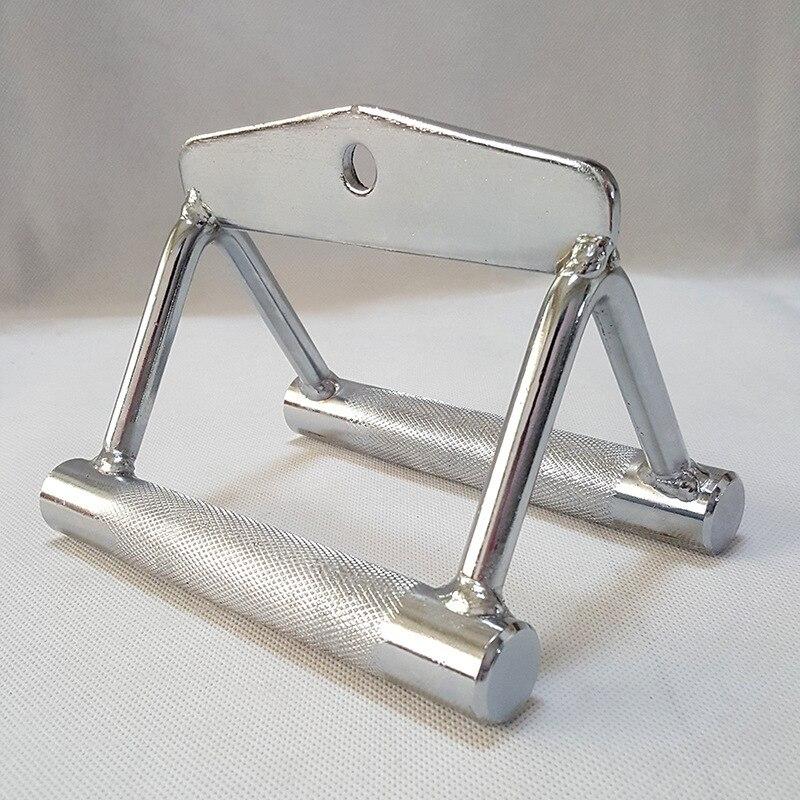 1 Pc qualité supérieure Multi Gym Câble Fixation V Poignée Double Rangée Fermer Poignée Lat Bar Entraînement de Musculation Accessoires