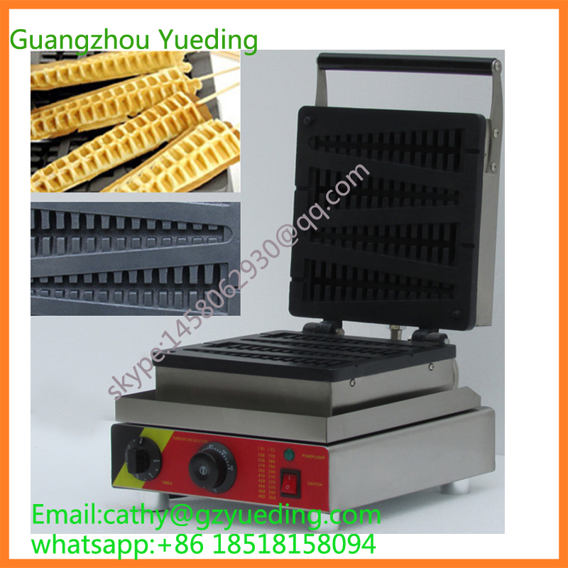Electric commercial Lolly waffle maker machine,Snack food machineElectric commercial Lolly waffle maker machine,Snack food machine