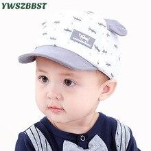 цена на 2019 New Spring Baby Hat Girls Sun Hat Cute Cat Soft Eaves Toddler Summer Kids Boys Beach Cap Children Baseball Cap Accessories