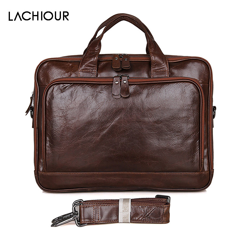 Large Size Genuine Leather Men Bag Fashion Cowhide Men's Business Laptop Messenger Bags Male Tote Shoulder Bag Leather Handbag redfox сумка full size business messenger 1000 черный