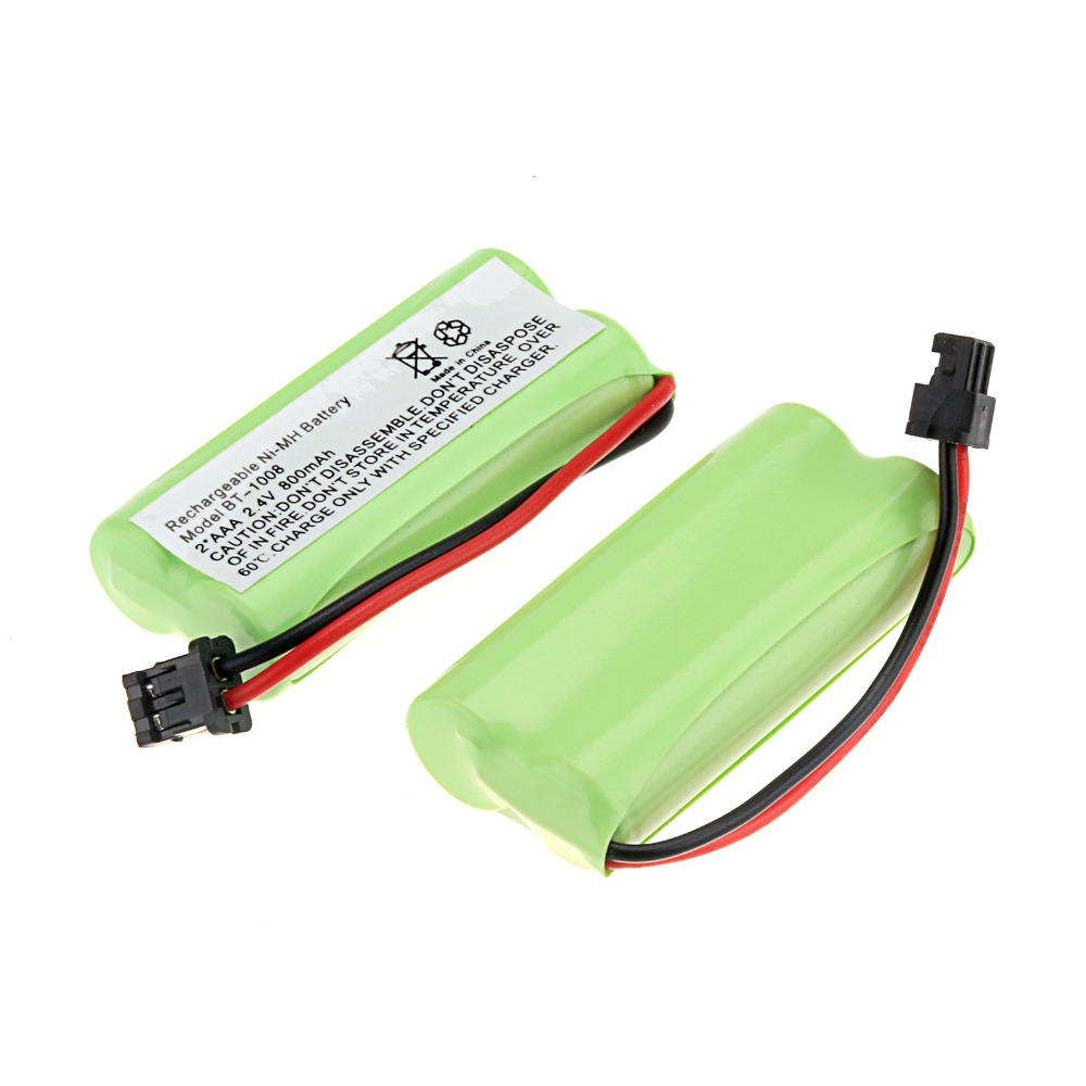 new arrival 2 packs a set 2 4v 800mah cordless phone rechargeable ni mh battery for uniden bt. Black Bedroom Furniture Sets. Home Design Ideas