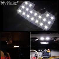 For HYUNDAI IX35 LED Interior Reading Lamp LED Light Auto Accessories 3pcs Per Set