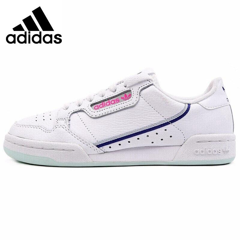 Original New Arrival Adidas Originals CONTINENTAL 80 W Women's Skateboarding Shoes Sneakers