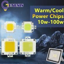 Интеграция epistar удара холодный бусы чип мощность cob smd прожектор dc