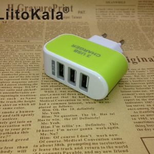 Image 3 - Сетевое зарядное устройство LiitoKala, с USB разъемом, 5 В, 3 А, 2 а, с вилкой Стандарта ЕС и Великобритании, для быстрой зарядки, для адаптера Lii100, Lii202