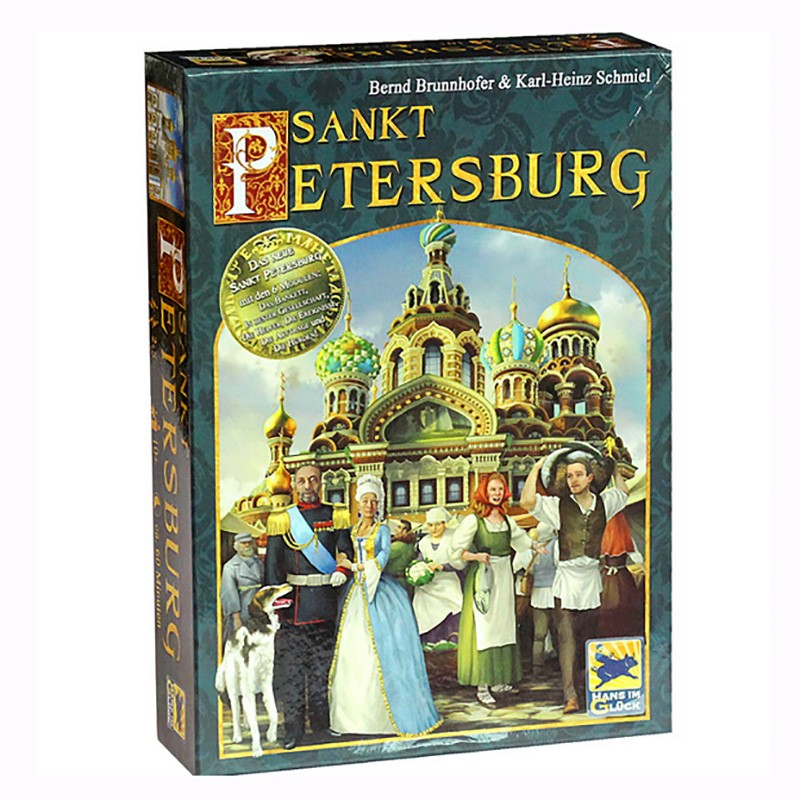 Saint Petersburg Board Game Cards Game 2-5 Players Family Game For Children With Parents Free Shipping saint petersburg board game cards game 2 5 players family toys game for children with parents indoor games