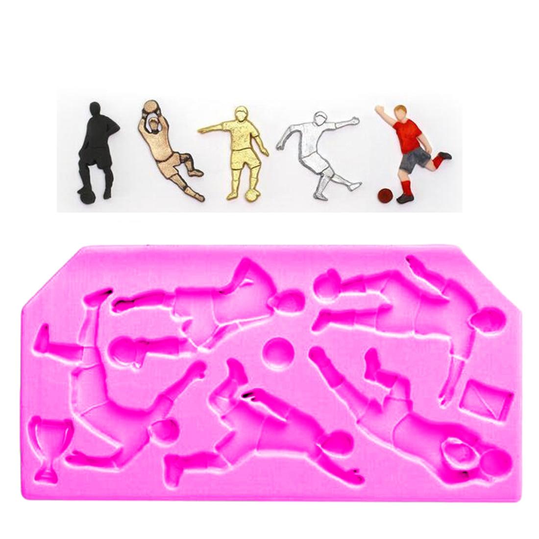 Sports Fondant Cake Molds