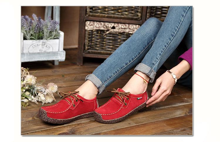 HX 8006 (10) 2018 Spring Autumn Shoes Woman