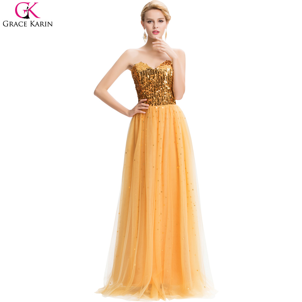 Compare prices on gold bridesmaid dress online shoppingbuy low gold bridesmaid dresses long 2017 grace karin sexy sequins cheap sweetheart mariage wedding party dress special ombrellifo Image collections
