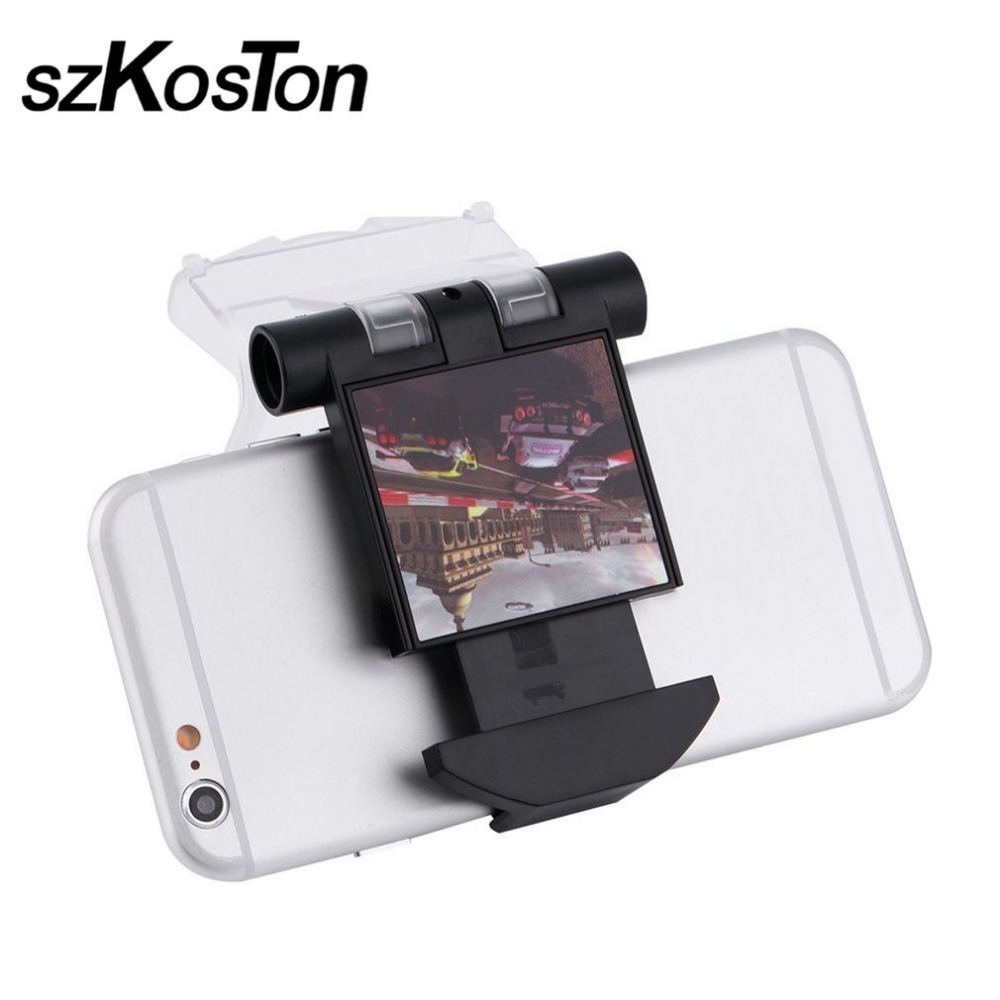 Adjustable For Android Mobile Phone Smart Clip Clamp Holder with OTG Data Cable For Playstation 4 for Dualshock Controller