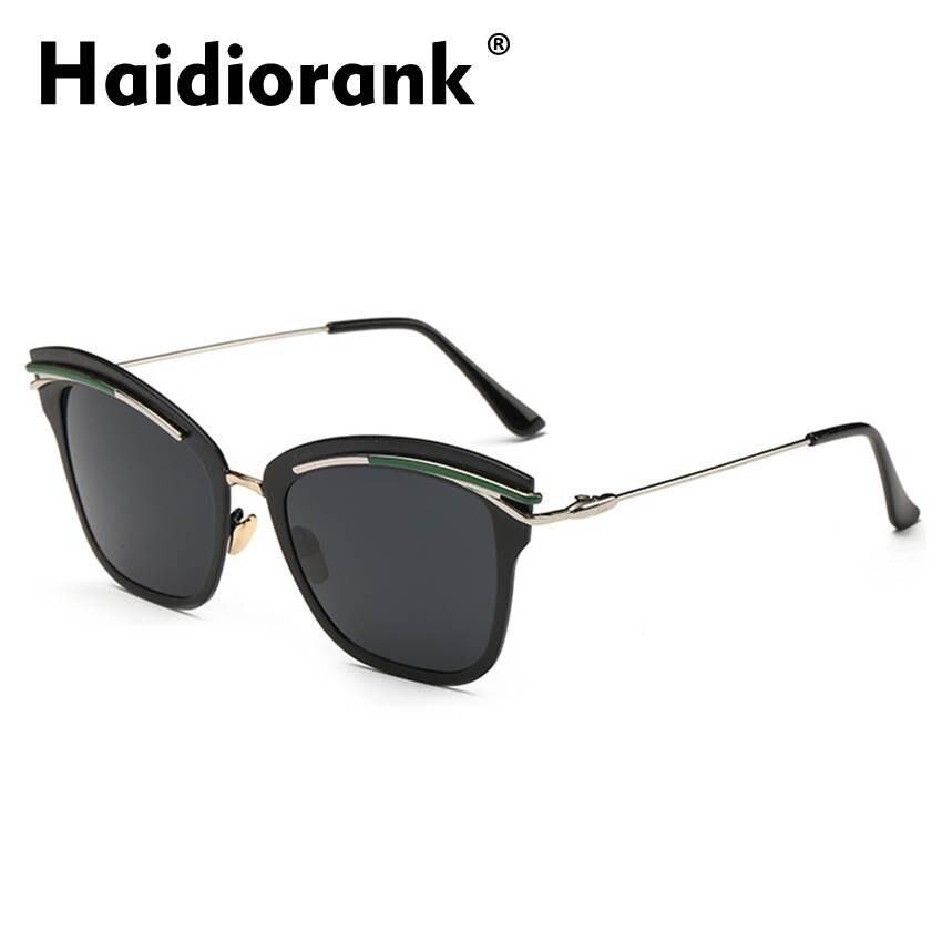Polarized Cat Eye Sunglasses Women Brand Designer 2017 Vintage Retro Mirror Sun Glasses For Women Female Luxury Hipster PL7011 фото