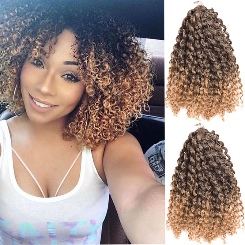 Crochet Hair Blonde : Blue Burgundy Red Pink Blonde Malibob Havana Mambo Crochet Braids ...
