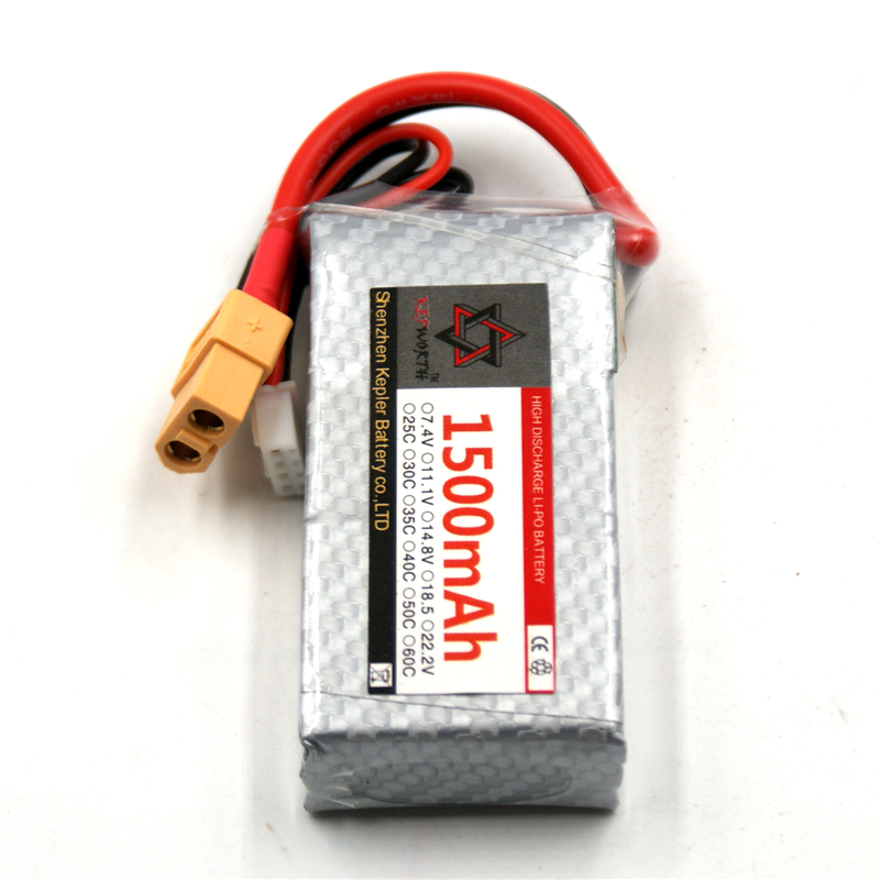 <font><b>3s</b></font> 11.1v <font><b>1500mAh</b></font> 25 35 <font><b>60C</b></font> <font><b>Lipo</b></font> Battery RC Car Plane Boat Lithium Ion Polymer Battery For Truck Tank Drone Helicopter image