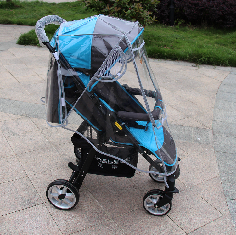 Raincoat For Stroller Wheelchair Pram Yoya Stroller Accessories Yoyo Stroller Rain Cover Universal Yoya Plus Carriers