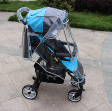 Raincoat for Stroller Wheelchair Pram Yoya Stroller Accessories Yoyo Stroller Rain Cover Universal yoya plus Carriers(China)