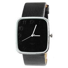 Модные кожаные Наручные часы кварцевые часы унисекс Для Мужчин's Для женщин детей Часы 08re ajhq c2k5w
