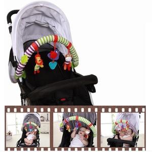 Image 5 - ホット販売素敵な旋盤カーシートベビーベッド赤ちゃん再生旅行ベビー幼児ベビーおもちゃ教育ガラガラ20% オフ