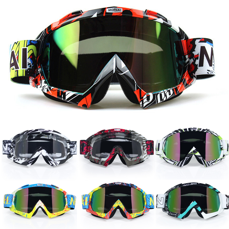 Motocross Motorcycle Goggles ATV Off Road Dirt Bike DustProof Racing Glasses Anti Wind Eyewear MX Goggles(China)